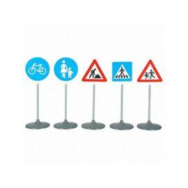 Közlekedési tábla 5db-os szett - Klein Toys
