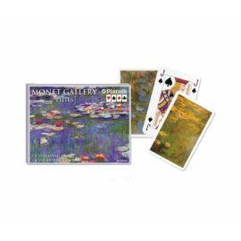 Művész römi kártya - Monet Vízililiomok 2x55 lap - Piatnik