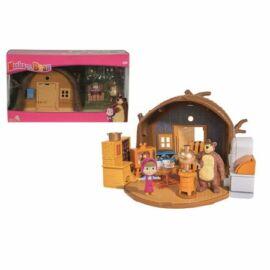 Simba Mása és a medve játékszett maci háza