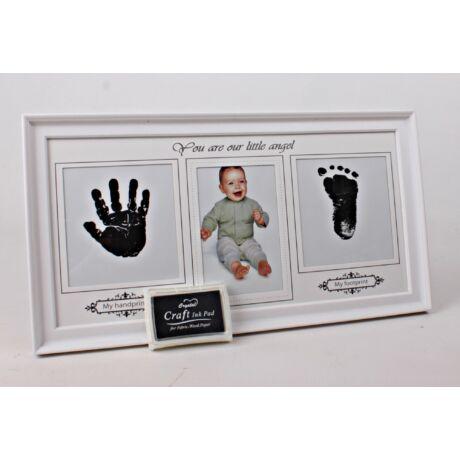 Műanyag fotókeret Baby+ festék