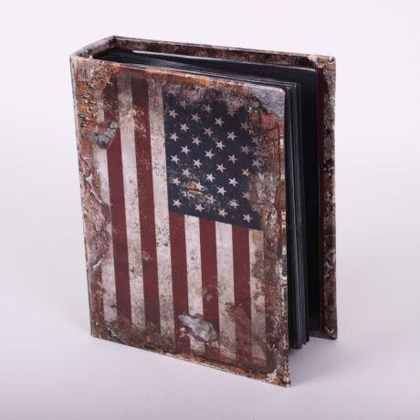 Fotóalbum USA szászló