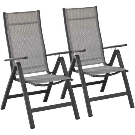 Merxx kerti szék alumínium, 1 pár