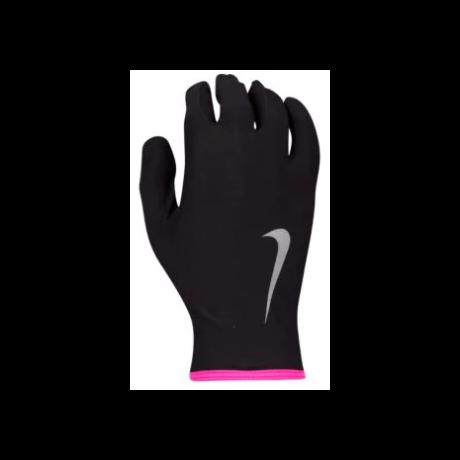 Nike női futókesztyű, Fekete-Pink