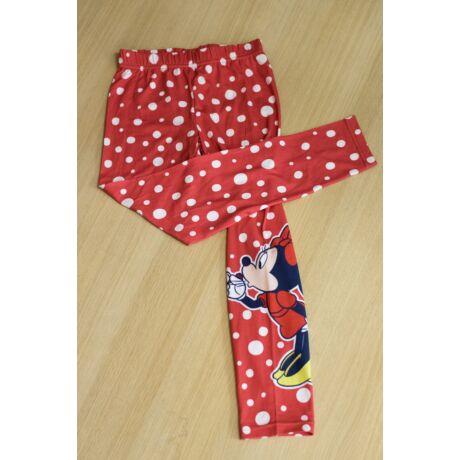 Minnie piros leggings
