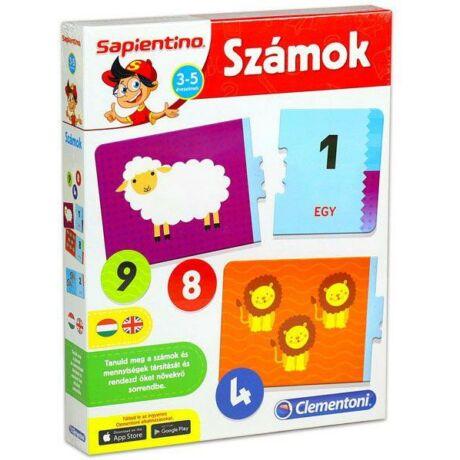 Clementoni Sapientino - Számok oktató játék