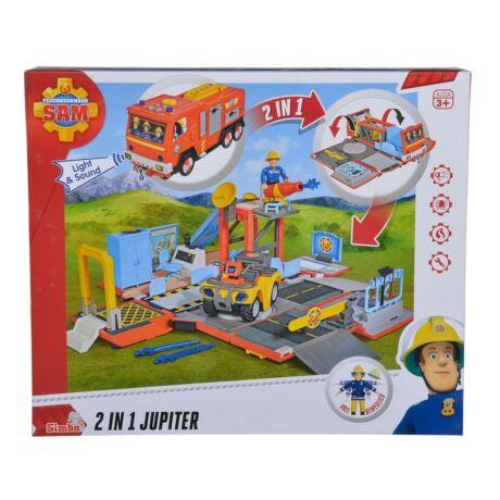 Sam a tűzoltó - 2 az 1-ben Jupiter tűzoltóautó
