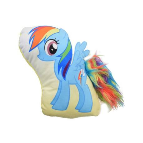 Én kicsi pónim: Rainbow Dash plüss forma párna