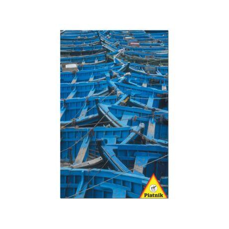 Piatnik 1000db-os puzzle, Kék hajók 68x48cm