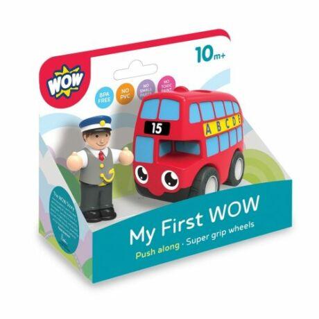 Wow Toys Wow első játékom Basil a piros busz