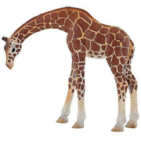 Bullyland Lehajtott nyakú zsiráf játékfigura