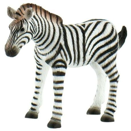 Bullyland Zebra csikó játékfigura