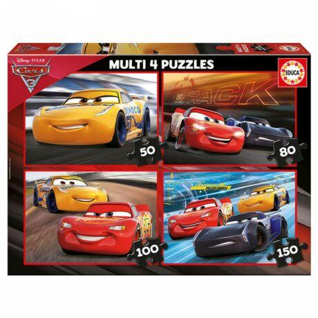 Educa Verdák 4 az 1-ben puzzle