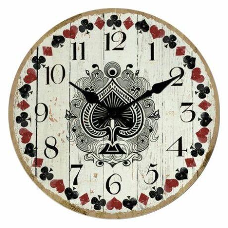 Römi mintás fali óra, 30cm