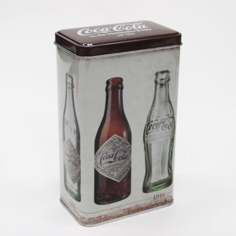 Fém doboz Coca Cola mintás