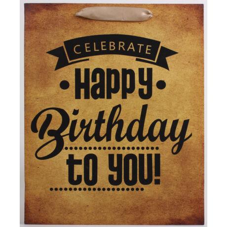 Happy Birthday dísz tasak