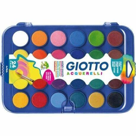 Vízfesték 24-es készlet 30 mm Giotto Acquerelli