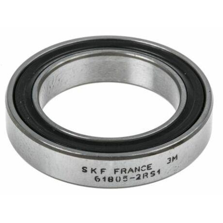 SKF egysorú mélyhornyú golyóscsapágy, 61805-2RS1
