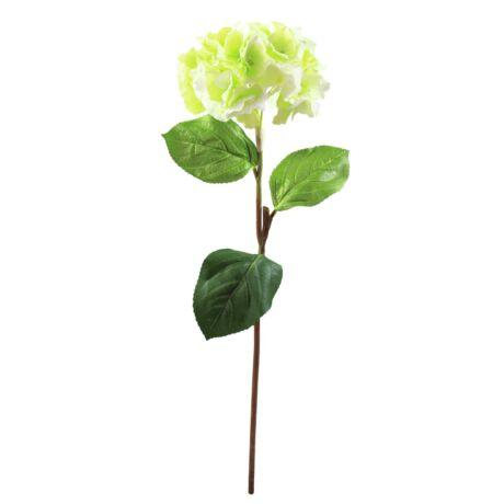 Hortenzia ág zöld,  műnövény 76cm