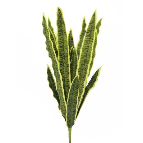 Sansevieria (EVA), green-gelb,  műnövény 60cm