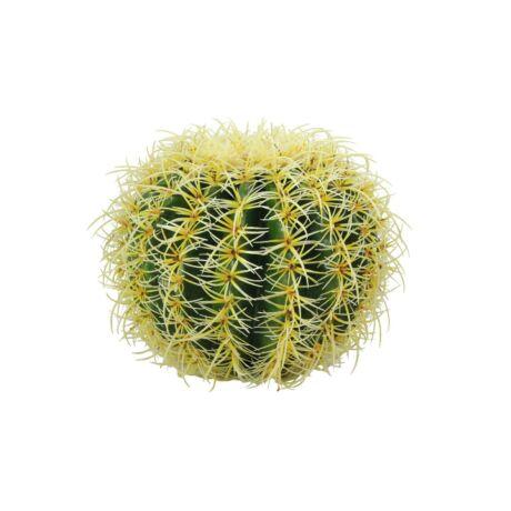 Barrel Kaktusz  műnövény 27cm