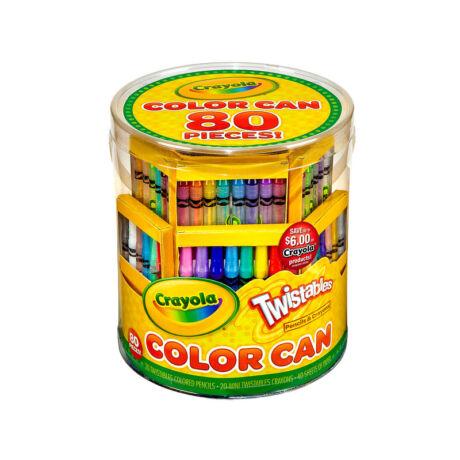 Crayola Rajzolókészlet, 80db-os