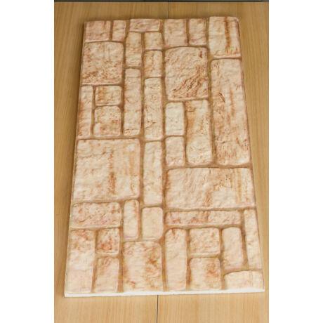Hungarocell dekor kőfal mintás tábla
