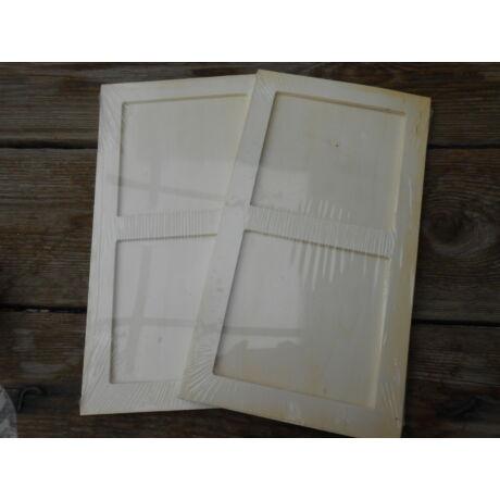 Fa Keret 2 ablakos 27.6 x 15.1 mm