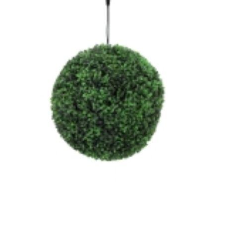 Levél gömb 200 zöld LED-del40cm