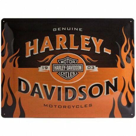 Harly Davidson fémtábla