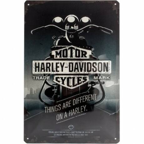 Harly Davidson Things Are Different fémtábla