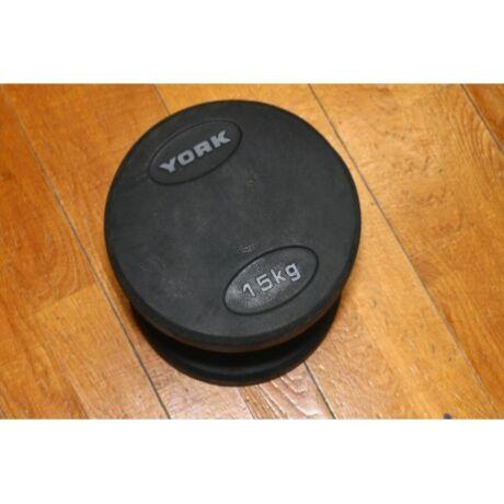 York kézi súlyzó, 15kg