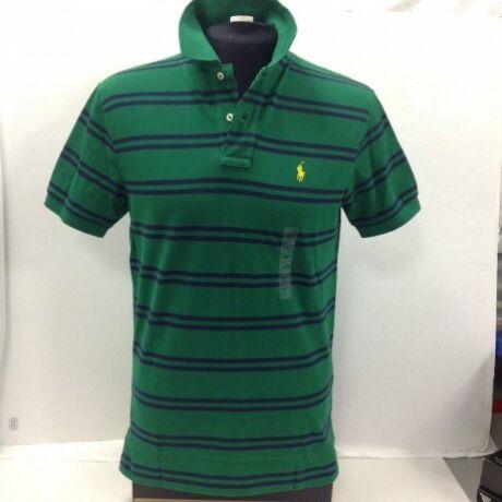225d82be08 Felsőruházat-Ralph Lauren Férfi galléros póló, Zöld csíkos