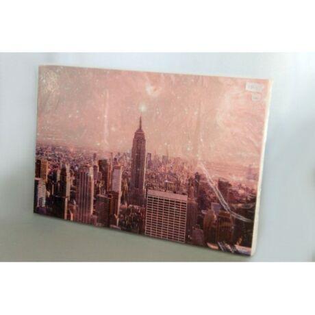 Város/ City vászon kép kereten