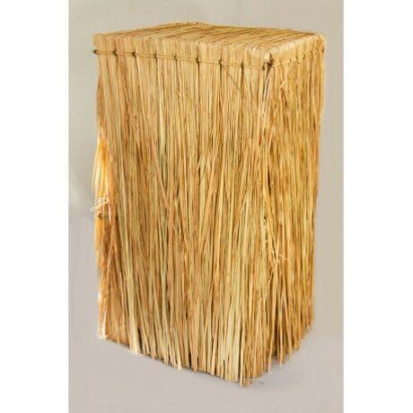 Dekor bútor állvány szalma borítással