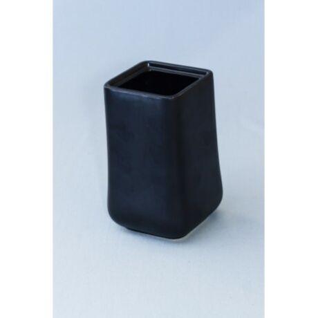 Kerámia váza, Fekete színben