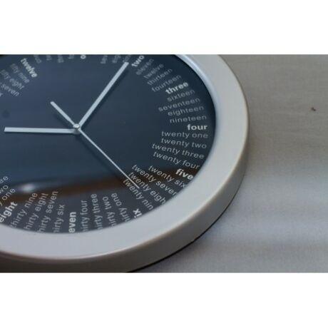 Fali óra, Szürke-Fekete színű
