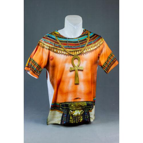 Egyiptomi fáraó felnőtt póló, jelmez