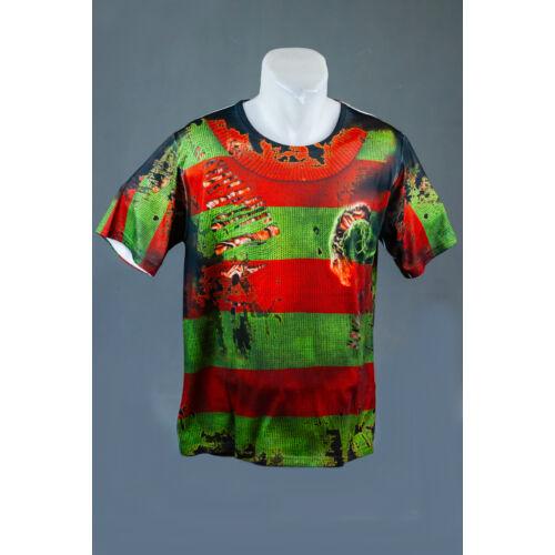 Freddy Krueger felnőtt póló, jelmez
