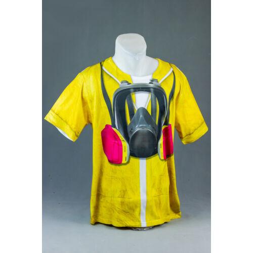 Vegyi ruha mintás felnőtt póló, jelmez