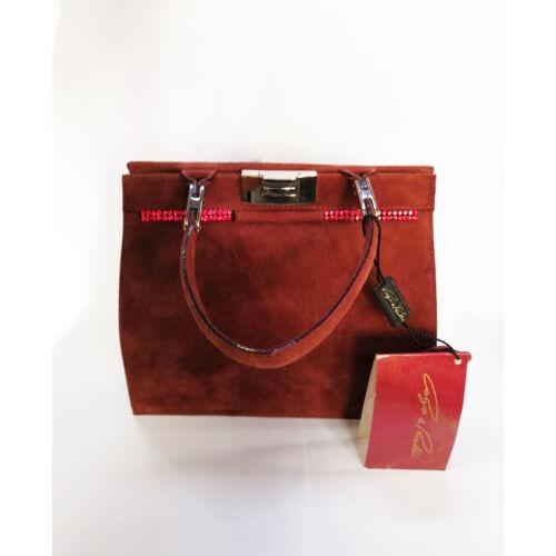 Elegáns női táska, bőr