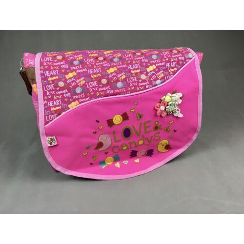 Chenson női válltáska pink