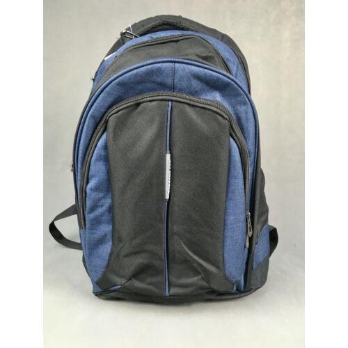 Adventurer hátizsák fekete / kék