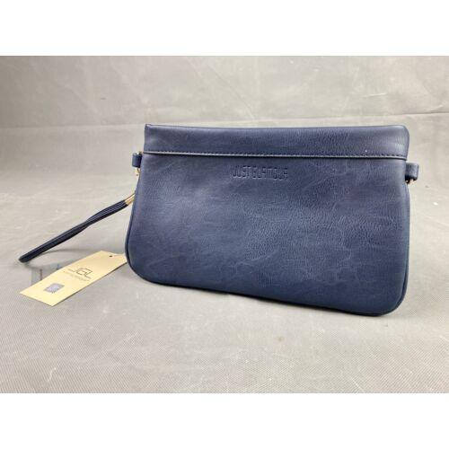 Just Glamour kék alkalmi táska