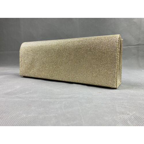 Aranyszínű estélyi táska