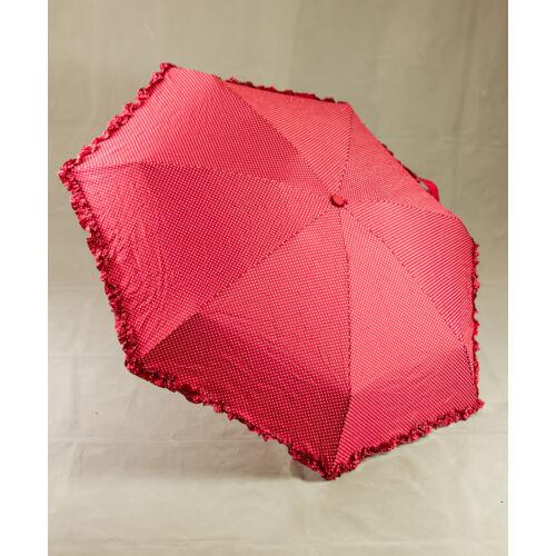 Bordó pöttyös esernyő
