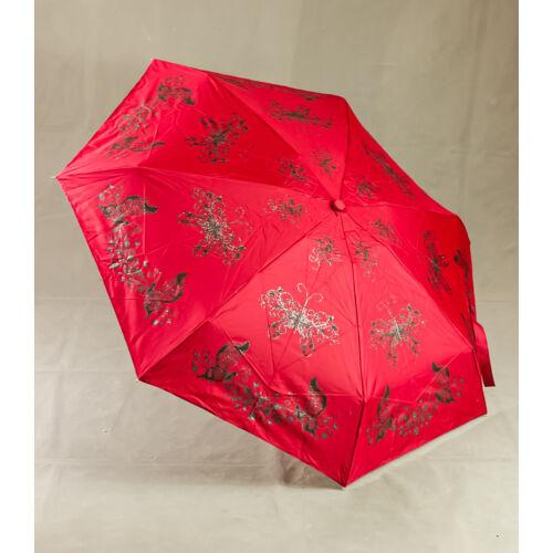 Bordó pillangós esernyő