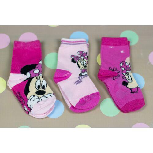 3 db Disney kislány zokni