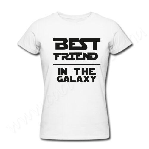 Egyedi feliratos vicces póló - legjobb barát - Best Friend in the Galaxy
