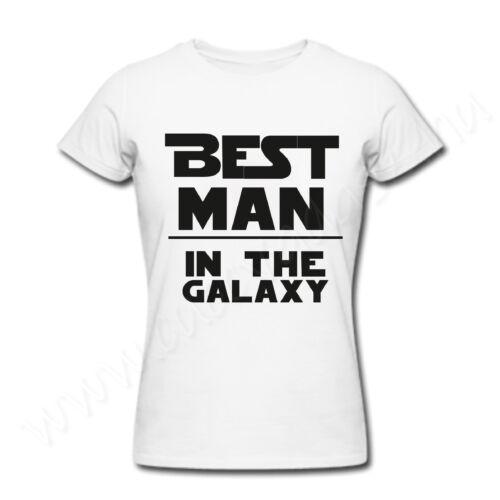Egyedi feliratos vicces póló - legjobb apa - Best Father in the Galaxy