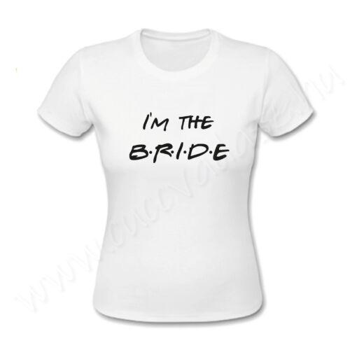 Egyedi feliratos női póló - Lánybúcsú- I'm the Bride